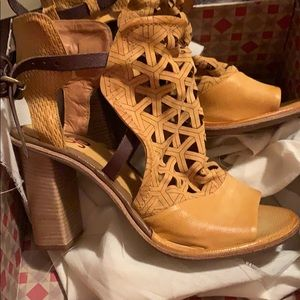 A.S.98 strappy heels